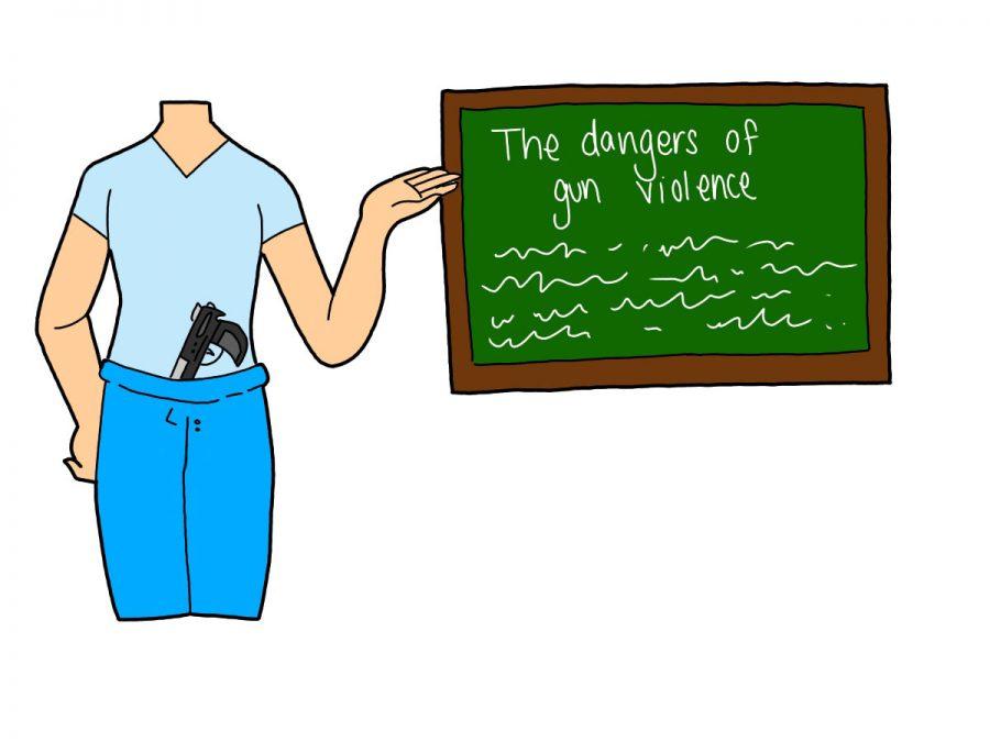 Teachers bearing arms