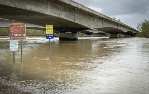 Flooding in Much of the Willamette Valley
