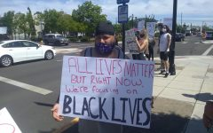 Protesting racial injustice, hundreds flood Ellsworth Street