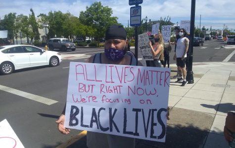 Protesting racial injustice, hundreds flood Ellsworth Street