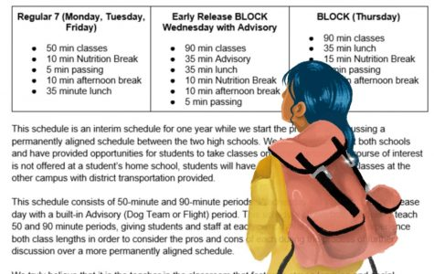 The Schedule Situation: Students protest next year's schedule change through democratically driven methods